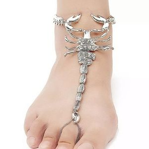 Jewelry - 🦂Scorpion foot chain🦂